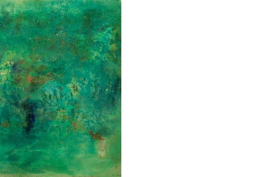 Emerald Sea, 2013 Catherine Javel